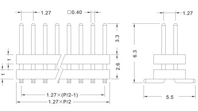 112-D SERIES PIN HEADER SMT DOUBLE ROW TYPE 1.27mm(0.050)1.jpg