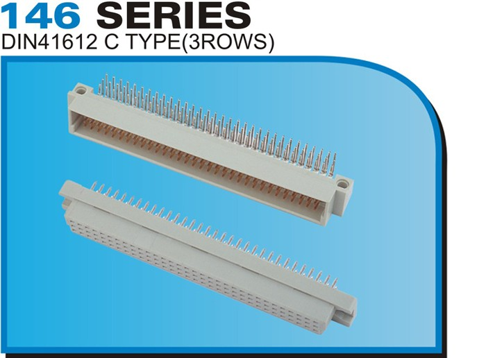 146 SERIES DIN41612 C TYPE(3ROWS)