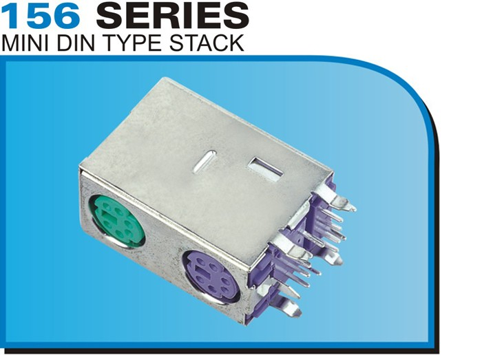156 SERIES MINI DIN TYPE STACK