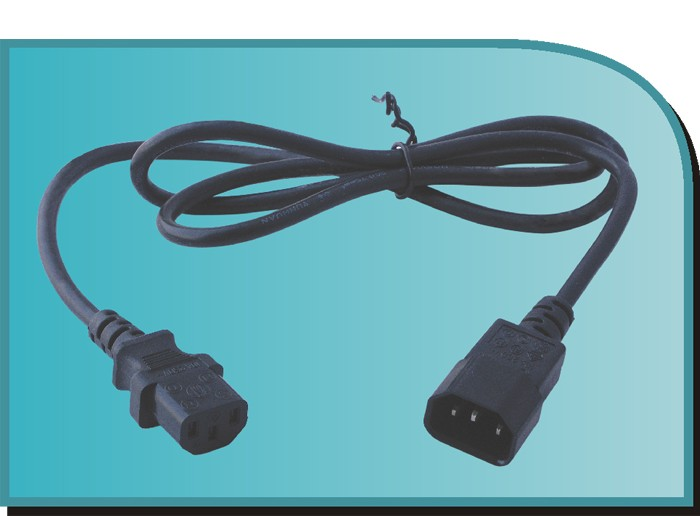 XYC114    AC POWER EXTENSION CORD VDE APPROVAL